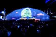 Pukkelpop 2015 projecties